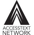 The logo for the AccessText Network.